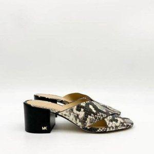 Michael Kors Abbott Leather Crisscross Sandals